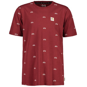 Maloja PitgalainM. T-Shirt Uomo, red monk bike